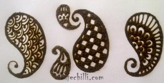 Simple Mehndi Patterns On Paper : Simple mehndi design tutorial for hands life chilli