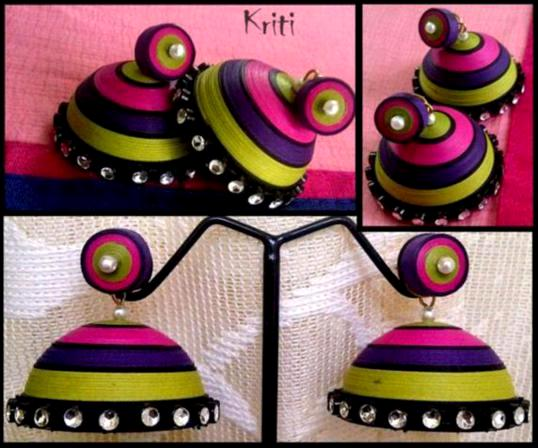 paper-quilling-jhumka