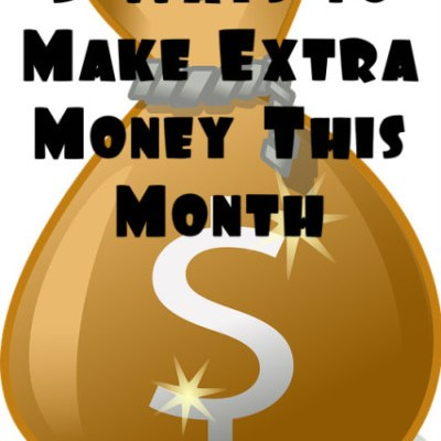 5 Ways to Make Extra Money This Month