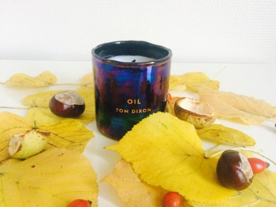 Tom Dixon Oil: Scented Candle as Decoration