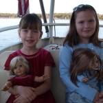 Heading to Magic Kingdom via boat from Fort Wilderness