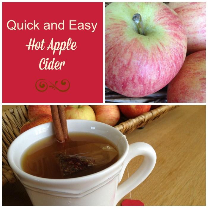 Hot Apple Cider Collage