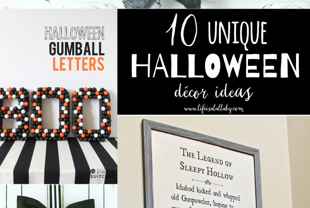 10 Unique Halloween Decor Ideas