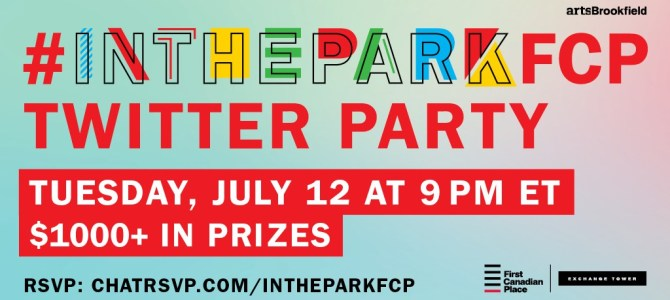 Join us for #InTheParkFCP twitter chat July 12 at 9PM ET!