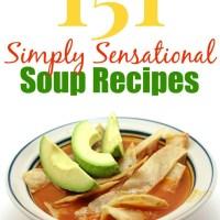 151 Simply Sensational Soup Recipes