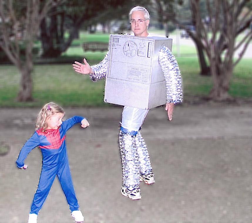 Kate and Bob Borson - Halloween 2008