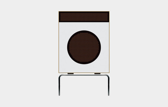 L 2 speaker, 1958, by Dieter Rams for Braun
