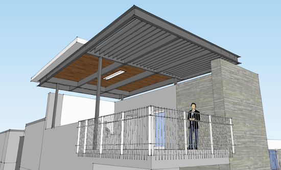 Job site culture and pride life of an architect for Terrace roof design philippines