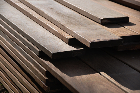ipe wood for vertical louvers