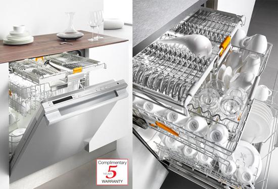 Miele Dishwasher Diamond G 5975 SCSF