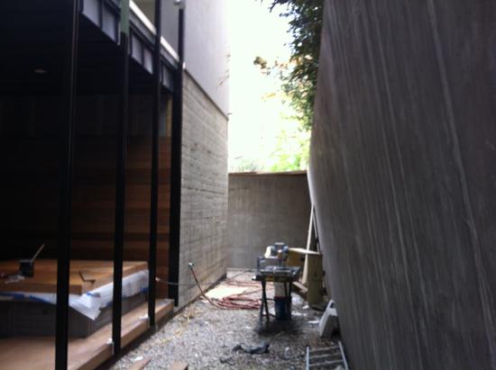 Rear Yard - before
