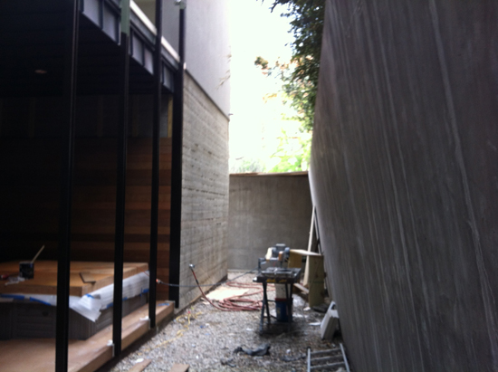 Rear Yard - before