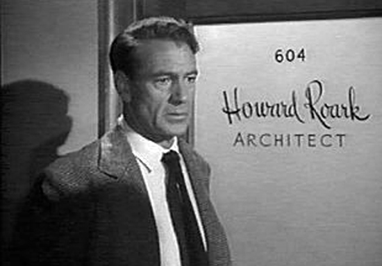 Howard Roark in the Fountainhead