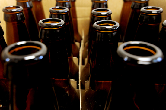 Home Brew Beer Bottles