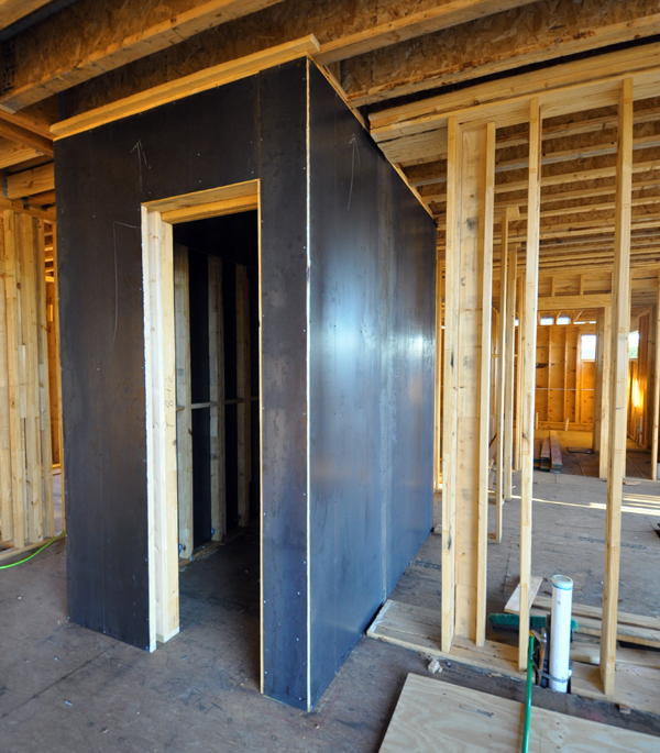 Tornado Room with steel plate walls 02