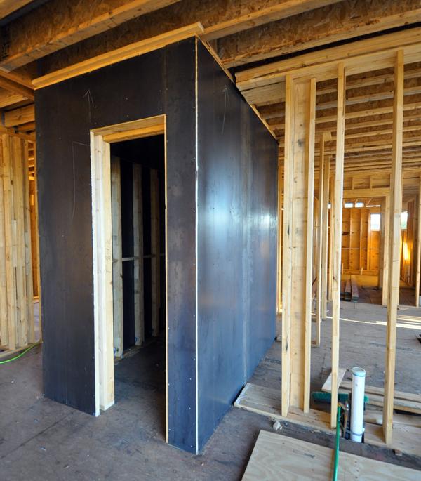 Tornado Room with steel plate walls 02