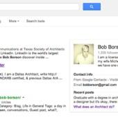 Bob Borson Google Search Results