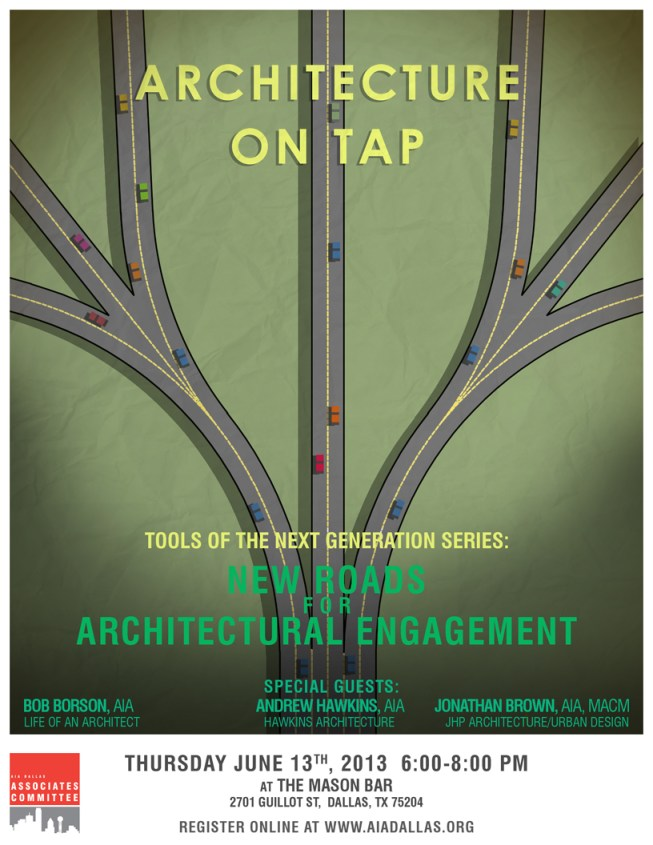 Register to attend - 'New Roads for Architectural Engagement'