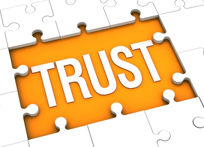 trust puzzle image by Sal Falko