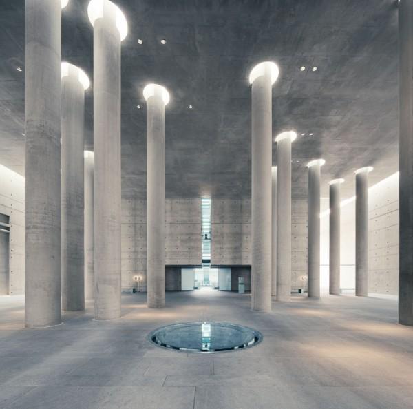 Baumschulenweg Crematorium designed by Alex Schultes and Charlotte Frank