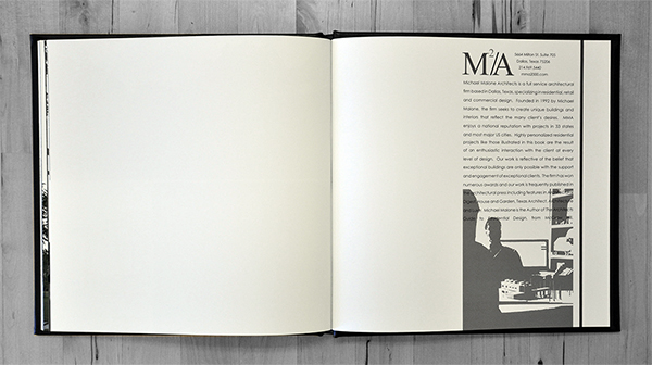 Michael Malone Project Book 'About MMA'