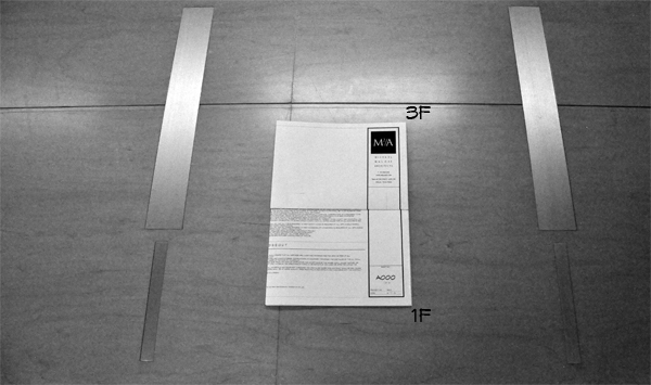 How to Fold an Architectural Drawing step six