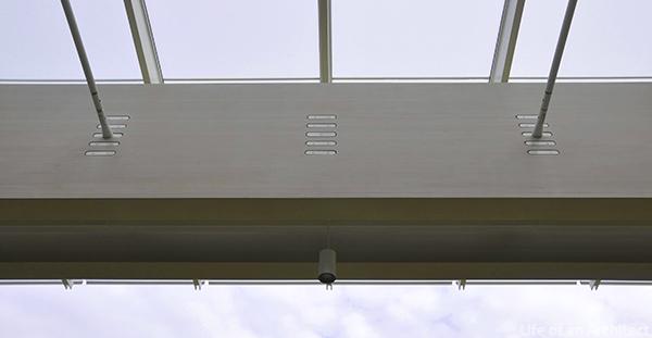 Renzo Piano Kimbell Museum roof beam