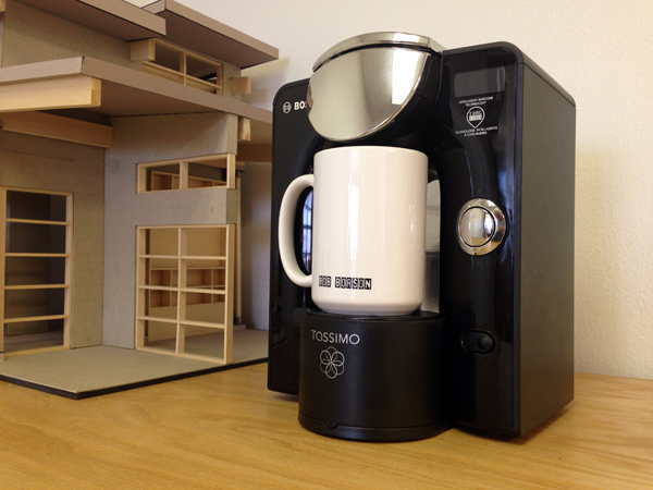 Our Tassimo in it's new home