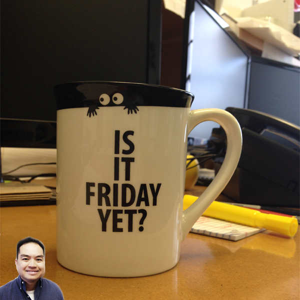 Peter Joe's coffee mug