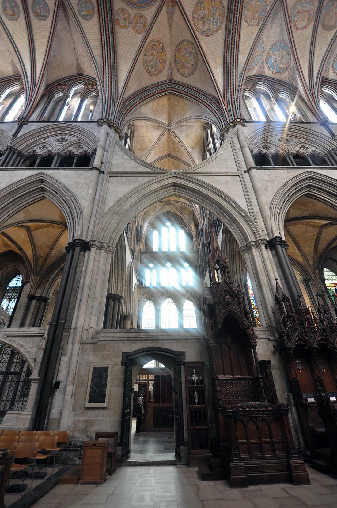 Salisbury Cathedral transept