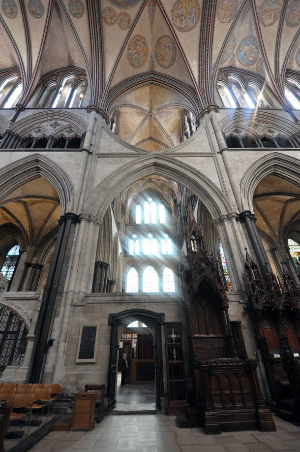 Salisbury Cathedral transept