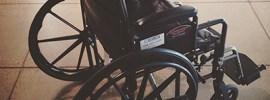 Bob Borson's wheelchair