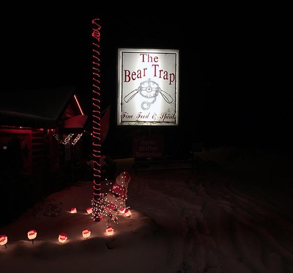 The Bear Trap restaurant