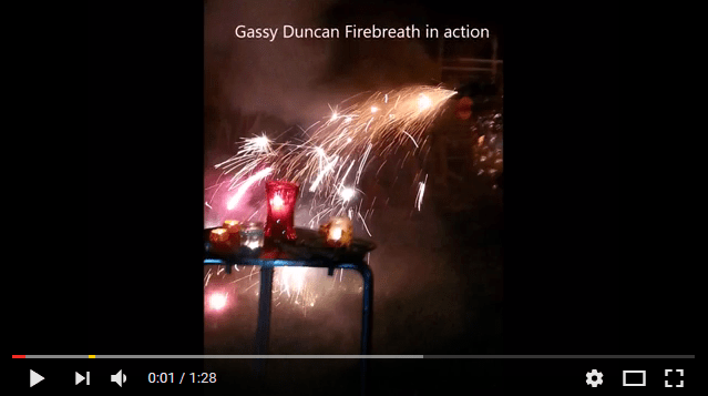 Video of Gassy Duncan