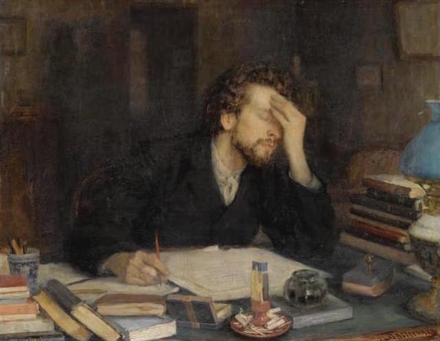 The Passion of Creation, by Leonid Pasternak, 19th Century