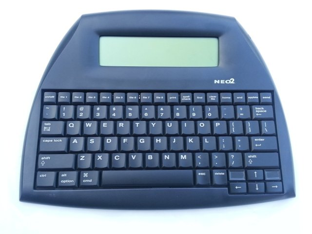 AlphaSmart Neo2 — Image from BoingBoing.net
