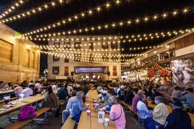 Wurstfest in New Braunfels, Texas — Source: PRNewsFoto/Wurstfest Association