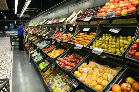 Fruits Section at Spinneys