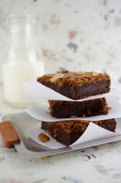 Amaretto Brownies
