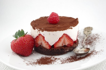 Strawberry Mascarpone Cheesecake I