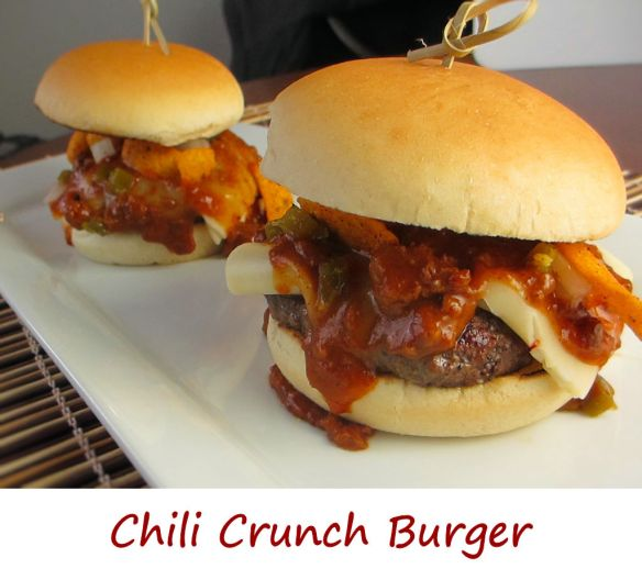 Chili Crunch Burger