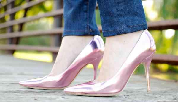 Dior Pink Pumps