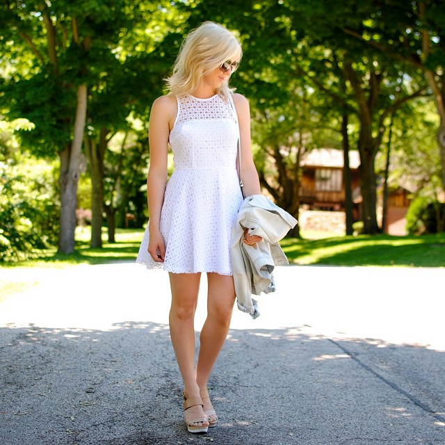 This Little White Dress on the blog today Its onhellip