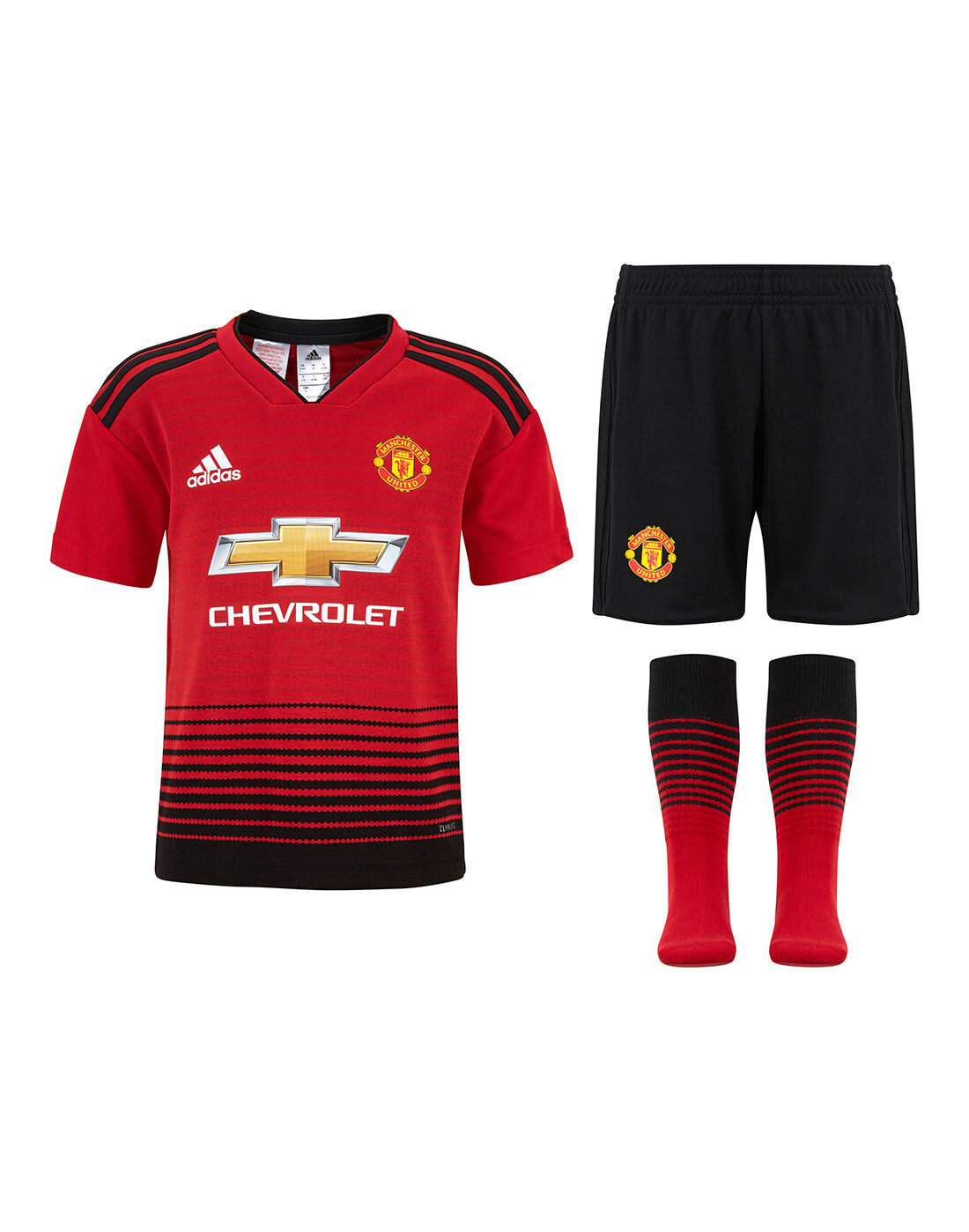 Kids Man United 18/19 Home Kit | adidas | Life Style Sports