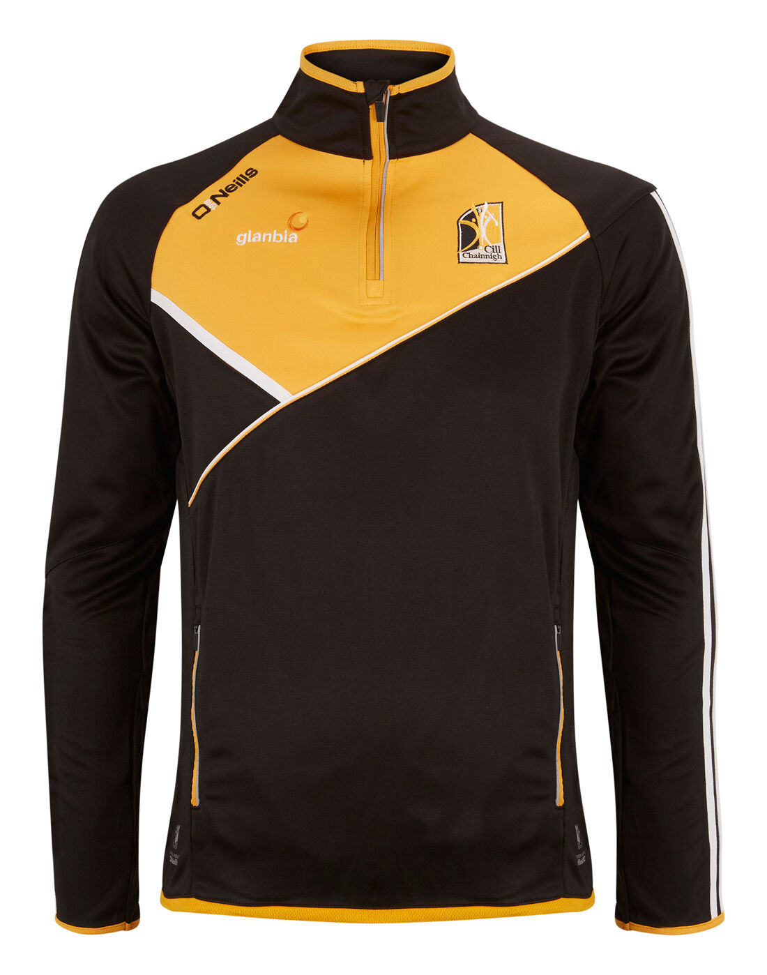 O'Neills Kilkenny Side Zip Top | Black | Life Style Sports