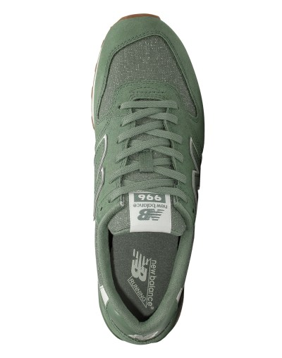 Women's Green New Balance 996 Trainers | Life Style Sports