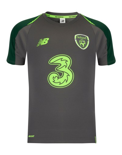Kids Ireland Elite Training Jersey | Grey | Life Style Sports