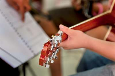 Learn something new - playing guitar