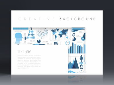 What is a Booklet and How to Design One Brochure template layout  cover design  business annual report  flyer   magazine