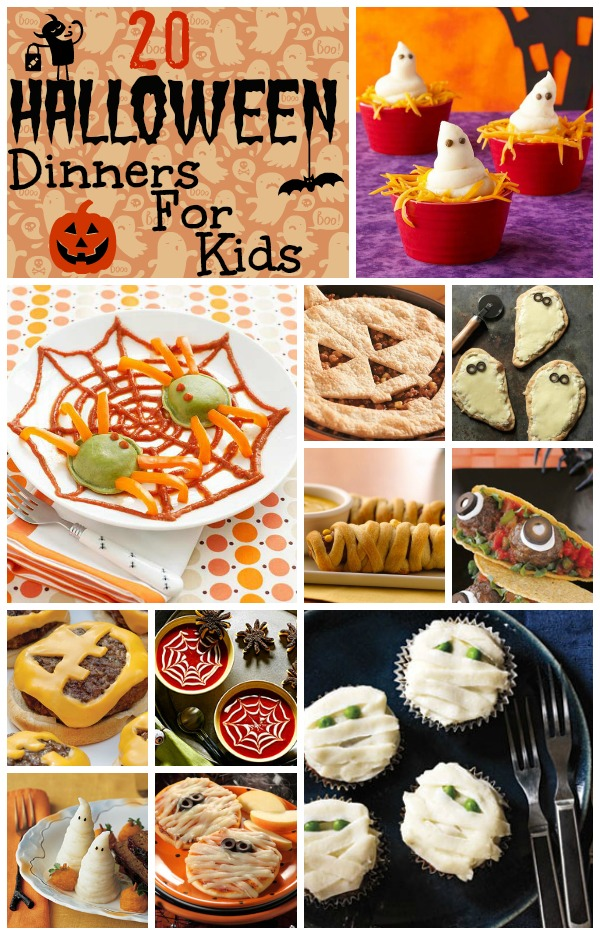 20 Halloween Dinners For Kids